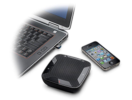 Calisto 620 Wireless Speakerphone with iPhone